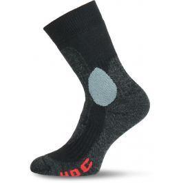 Lasting Hokejové ponožky  Hoc, 34 - 37, Černá