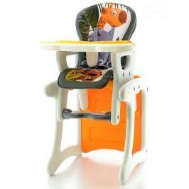 EURO BABY Jídelní stoleček - Žirafa oranžová