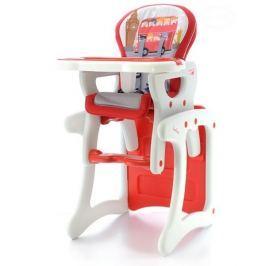 EURO BABY Jídelní stoleček - červený autobus