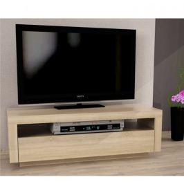 Tempo Kondela TV stůl s vyklápěcí zásuvkou, dub sonoma, AGNES