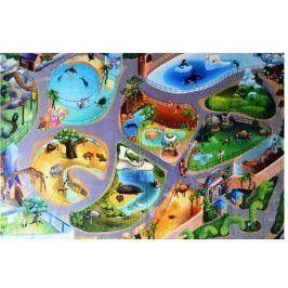 Dětský koberec Ultra Soft ZOO, 130 x 180 cm (86027)
