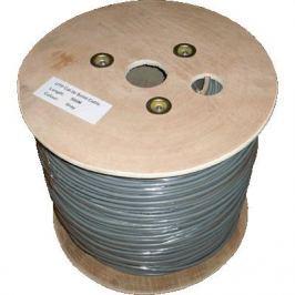 DATACOM UTP drát CAT5E  PVC  500m cívka šedý