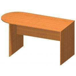 Tempo Kondela Kancelářský stůl s obloukem, trěšeň, TEMPO AS NEW 022