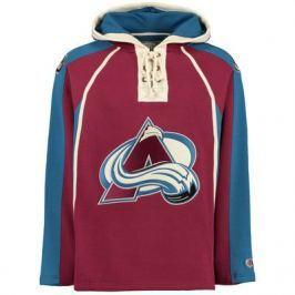Old Time Hockey Pánská mikina s kapucí  Lacer Fleece NHL Colorado Avalanche, S