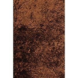 Předložka do koupelny Shine shaggy brown, 50 x 80 cm, 50 x 80 cm
