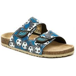Cortina.be Bio Walker 703704 modré dětské pantofle, 33