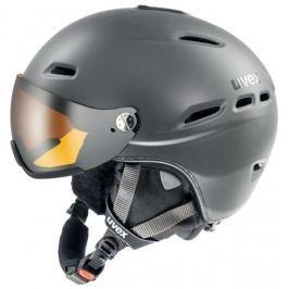 UVEX Lyžařská helma  Hlmt 200, S / M (55 - 58 cm), Šedá