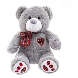 EURO BABY Plyšový medvídek 50cm - šedý
