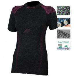 Lasting Dámské tričko s krátkým rukávem  TESA, L / XL, Šedá/růžová