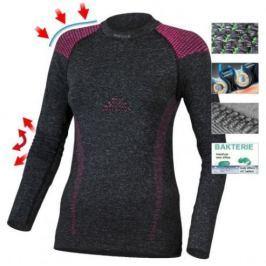 Lasting Termo tričko s dlouhým rukávem  Tela, L / XL, Šedá/růžová