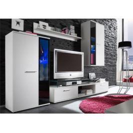 Tempo Kondela Obývací stěna, bílá, SALESA