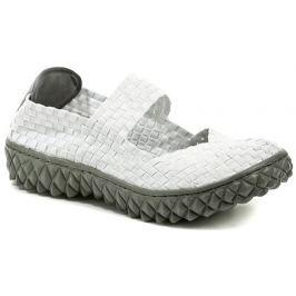 ROCK Spring OVER bílá dámská gumičková obuv, 40