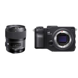 Sigma SET - SD QUATTRO H digital camera +  35/1.4 DG HSM ART