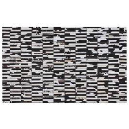 Tempo Kondela Luxusní koberec, kůže, typ patchworku, 141x200 cm, KOBEREC KOŽA typ6