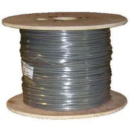 DATACOM FTP drát CAT6 PVC 500m cívka šedý