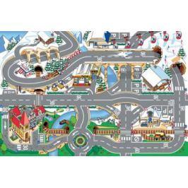 Dětský koberec Hrací koberec Zasněžené město 3003000, koberec
