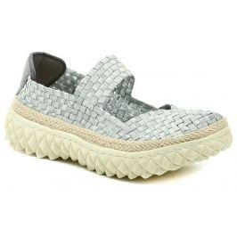 ROCK Spring ZION Silver stříbrná dámská gumičková obuv, 37