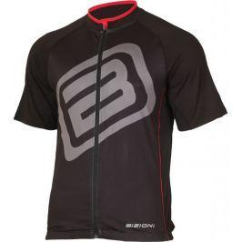 Bizioni Pánský cyklistický dres  MD73, XL, černo/červená