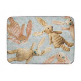 Dětský koberec Ultra Soft Králík modrý, 60x110 cm