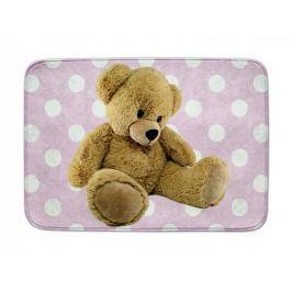 Dětský koberec Ultra Soft Medvídek růžový, 70 x 100 cm