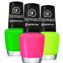 Dermacol Neonový lak na nehty 5 ml 16 Neon Smile