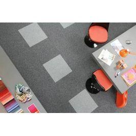 Koberec Objektové čtverce 252 OBJECT, 014 grey 1 m2