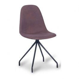 Tempo Kondela Jídelní židle, hnědá/černá, BALRAM