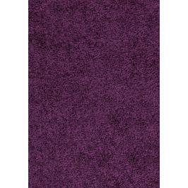 Dream Shaggy 4000 lila, Kulatý 120 cm průměr