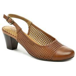 Axel AX2122 hnědá dámská letní obuv, 40