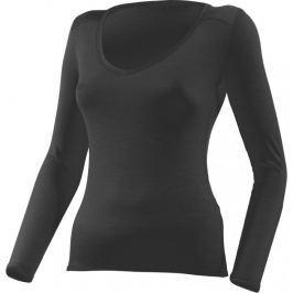 Lasting Dámské vlněné tričko  Eva, M, Černá
