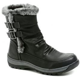 Scandi 56-0762-A1 černá dámská zimní obuv, 38