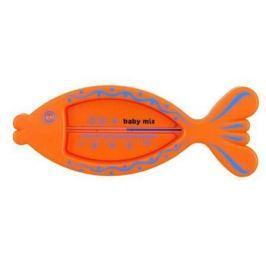 Plovoucí plastový teploměr BABY MIX oranžová rybka