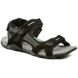 VM Import VM Honolulu černé pánské letní nadměrné sandály, 47