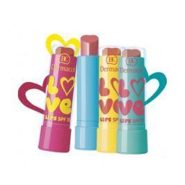 Dermacol Zvláčňující balzám na rty Love Lips SPF 15 3,5 ml, 11 Sytá růžová, vůně Juicy