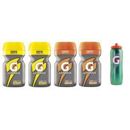 Gatorade 2x  Lemon a Orange Powder + 1x Láhev