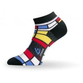 Lasting Univerzální ponožky  Afa, 34 - 37, Černá/modrá