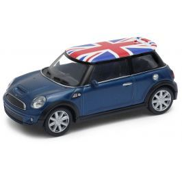 Welly - Mini Cooper S (Velká Británie) model 1:43  modrá