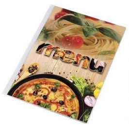 PANTA PLAST Desky na jídelní lístek Pizza, motiv pizza-těstoviny, A4,