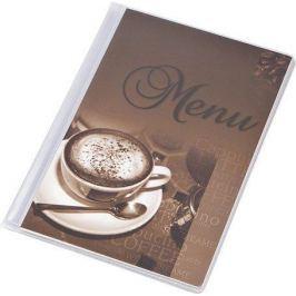 PANTA PLAST Desky na jídelní lístek Coffee, motiv káva, A5,