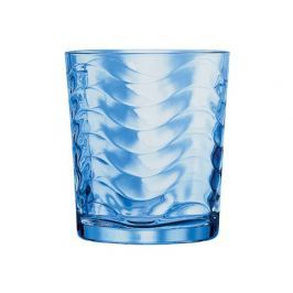 BANQUET Sada sklenic na whisky BLUE WAVE 260 ml, 6 ks
