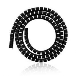 4WORLD Organizér kabelů SMART SNAKE - průměr 34mm, délka 1.5m, černý