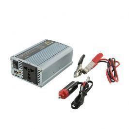 Whitenergy Napěťový měnič AC/DC z 12V na 230V 350 W, USB; adaptér do zapalovače