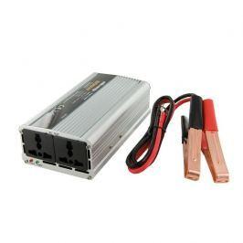 Whitenergy Napěťový měnič AC/DC z 12V na 230V 500 W, 2 zásuvky