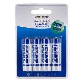 WHITENERGY nabíjecí baterie AA/R6 2800mAh 4ks - blister
