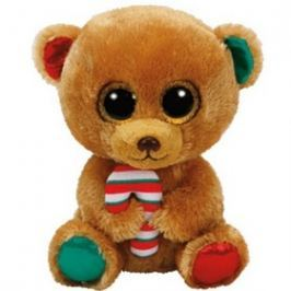 Meteor CEE Kft. Beanie Boos BELLA hnědý medvěd 24cm