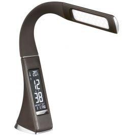 IMMAX LED stolní lampička Leather/ 5W/ 200lm/ 5V/1A/ 3 různé barvy světla/ flexi