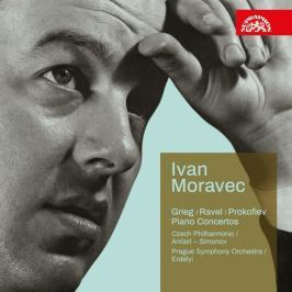 Supraphon CD Ivan Moravec : Koncerty (Grieg, Ravel, Prokofjev)