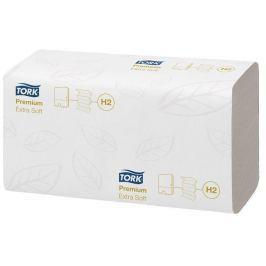 TORK Ručníky, papírové, skládané, systém H2,  Premium Interfolded, extra bílý