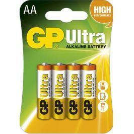Baterie alkalická GP AA, LR6, Ultra, blistr 4ks (*B1921)
