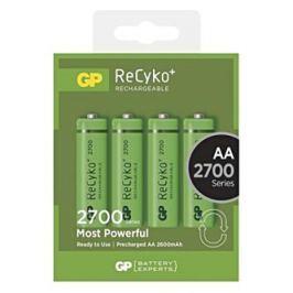 Baterie Ni-MH, AA nabíjecí, 1.2V, 2 700 mAh, GP, blistr, 4-pack